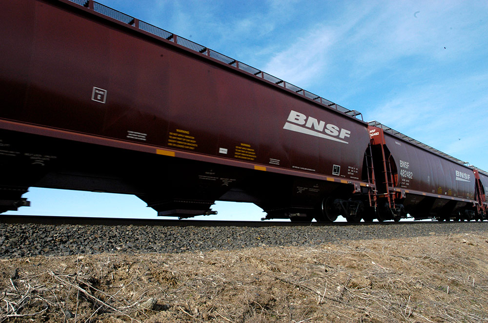 BNSF Hopper Car