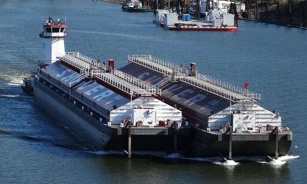 Wheat Barge