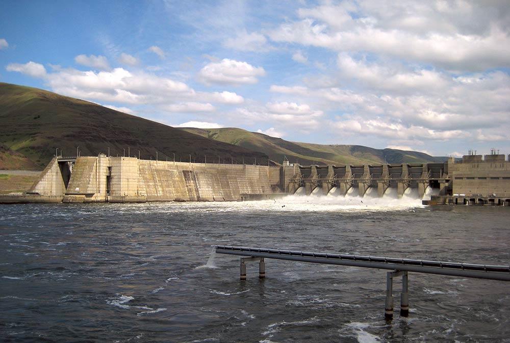 Lower Granite Lock and Dam in Clarkston, WA